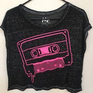 Tokyo Darling 80s Retro Cassette Tape Graphic Tee